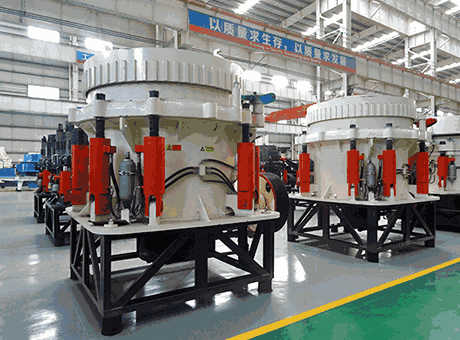 Jaw Crusher And Two Downstream Cone Crushers 4