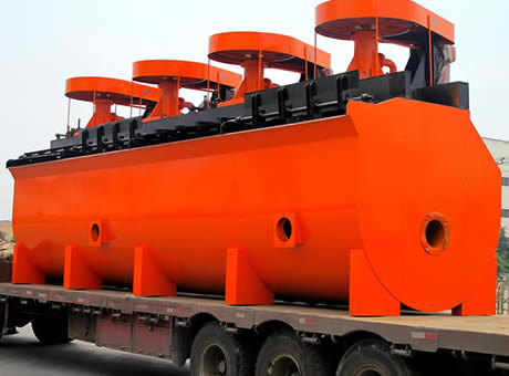 Large Conveying Capacity Flotation Cell System Machine